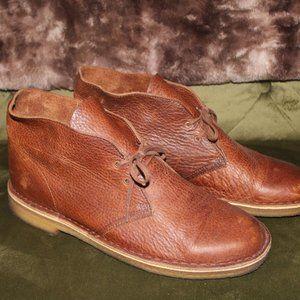 Men's Clarks Original Chukka Boots - Tan Leather